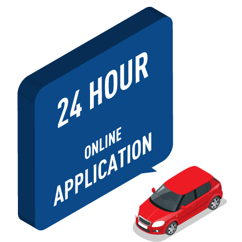 24 Hour Online Application