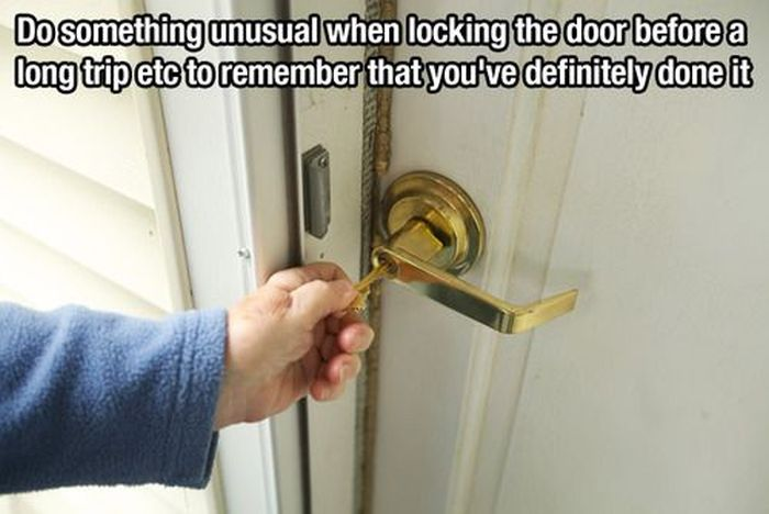 life hack door lock