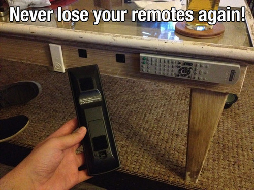 life hack Never-lose-your-remotes-again