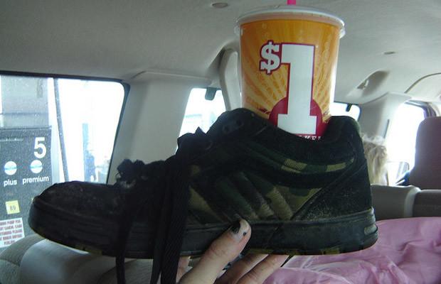 car life hacks shoe