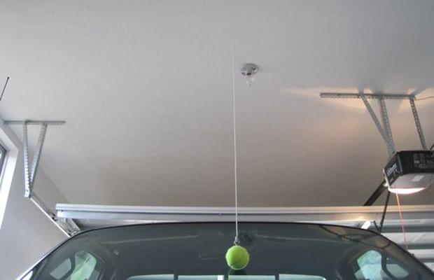 car life hacks tennis ball